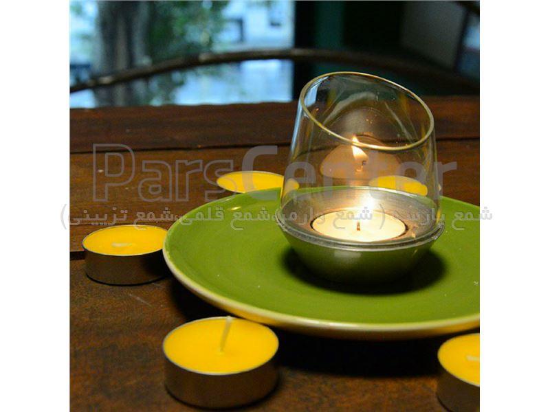 شمع وارمر رنگی 10 تایی