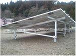 استراکچر(سازه) 2.5کیلواتی نصب پنل خورشیدی(سولار) بر روی  زمین