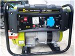 موتور برق 1Kw بنزینی با استارت و باطری ( SUNPOWER ) ساخت چین مدل SP3000