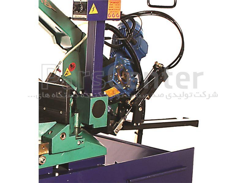 دستگاه اره نواری فولادبر ۴۰۰ نیمه اتوماتیک