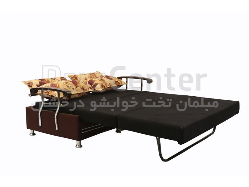 مبل تختخوابشو سه نفر نشیمن دو نفر خواب پترو عرض 140