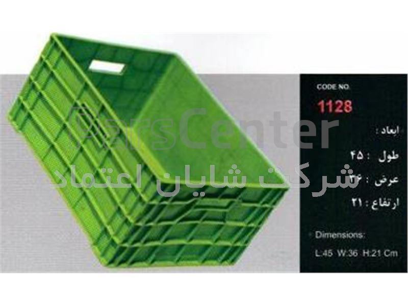 سبد پلاستیکی کد 1128 ابعاد:21*36*45