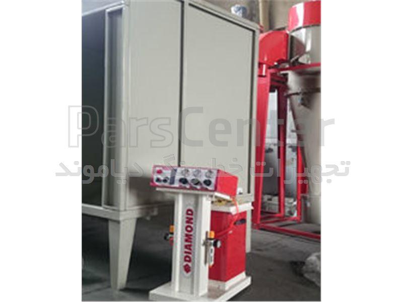 دستگاه پاشش الکترواستاتیک-رنگپاش پودری-خط رنگ-کوره -کابین -سایکلون-تجهیزات پاشش رنگ-رنگپاش پودری -
