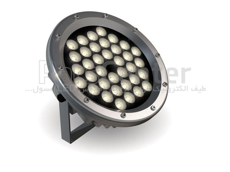 چراغ چمنی 24 وات گرد