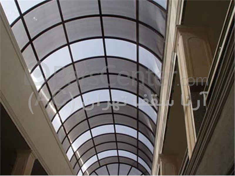 پوشش سقف مجتمع به صورت تونلی