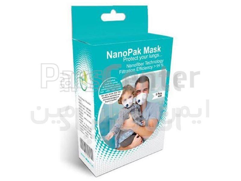 ماسک سوپاپدار 5 لایه N99 با لایه نانو