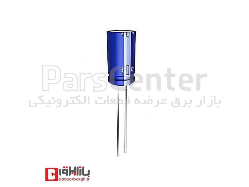 خازن الکترولیتی 10 میکروفاراد 16 ولت Nichicon