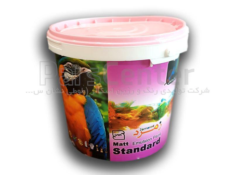 رنگ نیم پلاستیک زمرد 5 کیلویی اسکالر