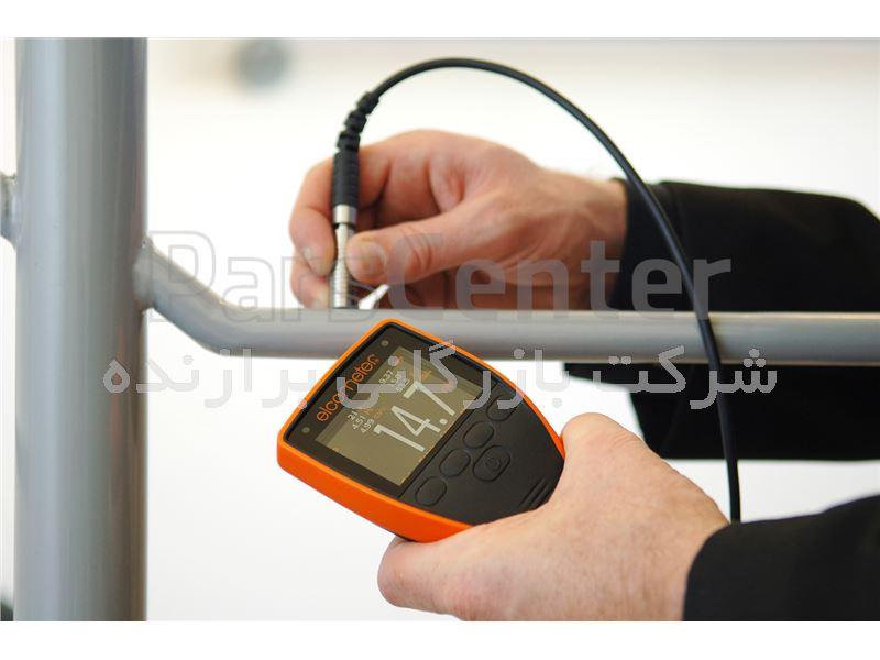 دستگاه ضخامت سنج رنگ و روکش کمپانی ELCOMETER انگلیس پایه آهن مدل F456