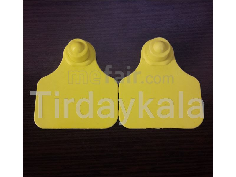 Cow ear tag laser printed