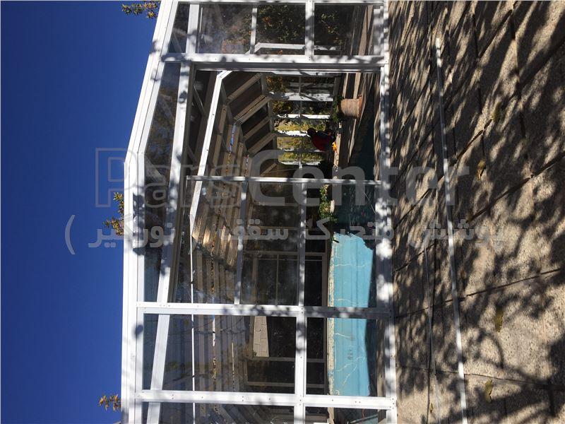 پوشش سقف استخر متحرک - شیراز