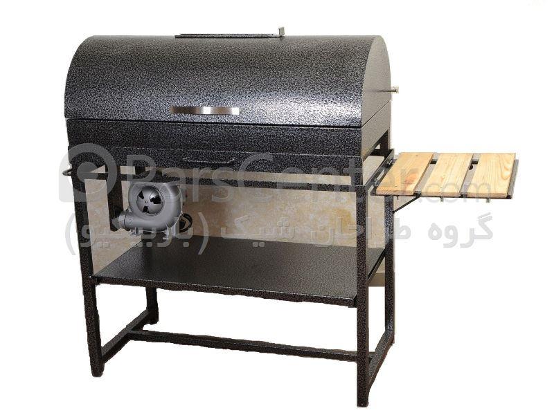 باربیکیو و کباب پز درب گرد ذغالی - محصولات باربیکیو و منقل در پارس ...باربیکیو و کباب پز درب گرد ذغالی ...
