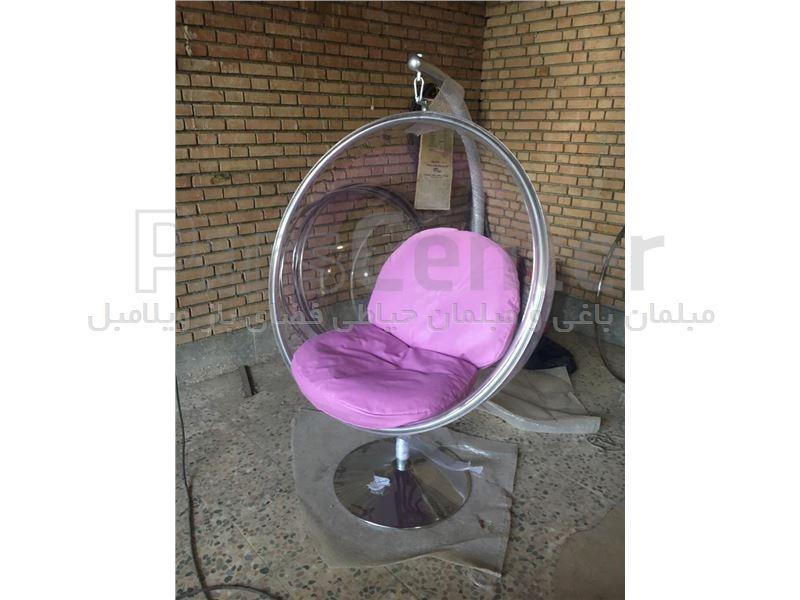 صندلی شیشه ای مدل آویز