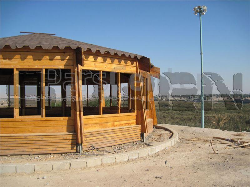 اکستنشن های چوبی فضای باز