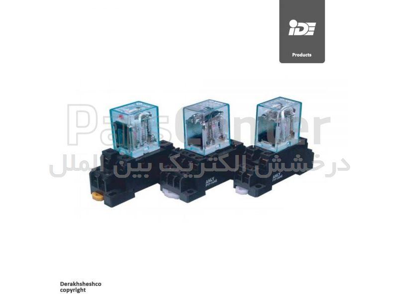 رله های شیشه ای LED دار مدل AHC2N آنلی | ANLY