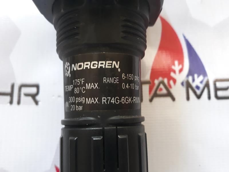 رگلاتور NORGREN مدل R74G-6GK-RMN