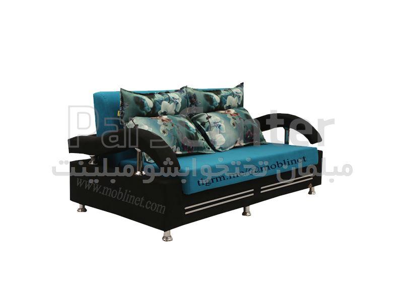 مبل تختخوابشو سه نفر نشیمن دو نفر خواب آشیر