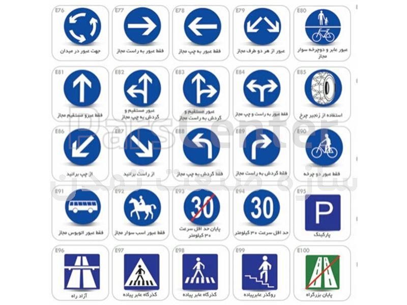 تابلو ترافیکی فریم دار پارکینگ
