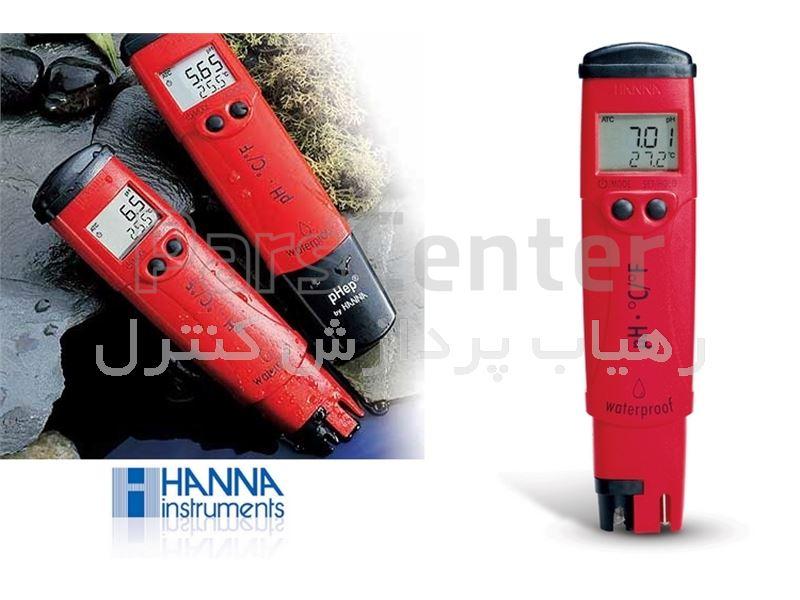 پی اچ متر قلمی هانا مدل HANNA HI-98127