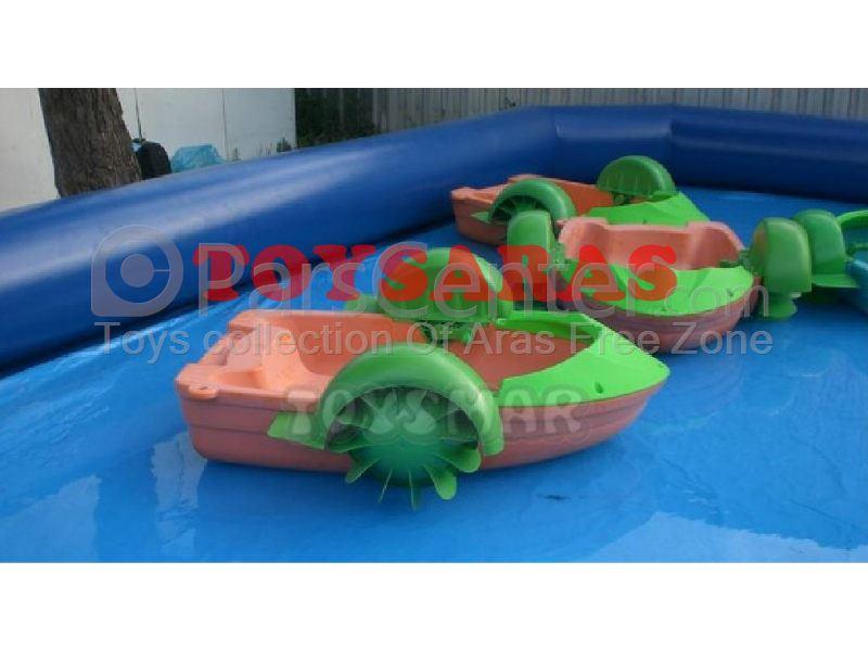 قایق هندلی پلاستیکی
