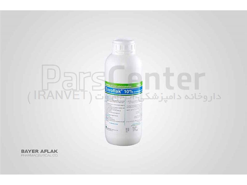 انروفلاک® 10 % ( انروفلوکساسین خوراکی)