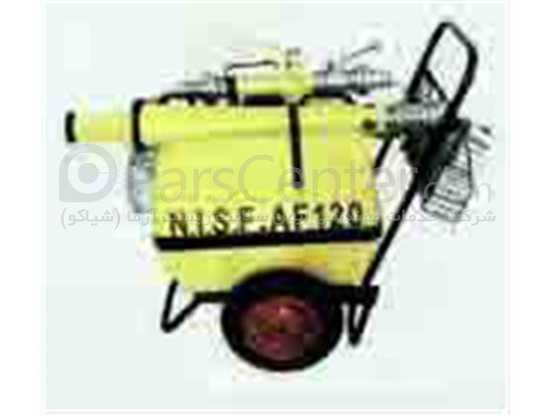 کف ساز متحرک آتش نشانی یا موبایل فوم 120 لیتری آتش نشانی