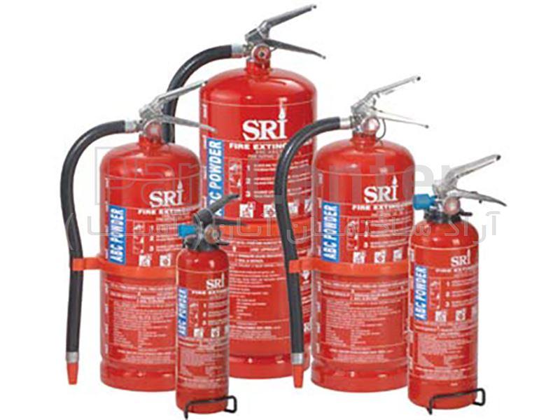 کپسول آتش نشانی پودرخشک SRI