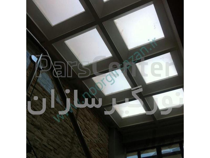 پوشش بازشو سقف حیاط خلوت