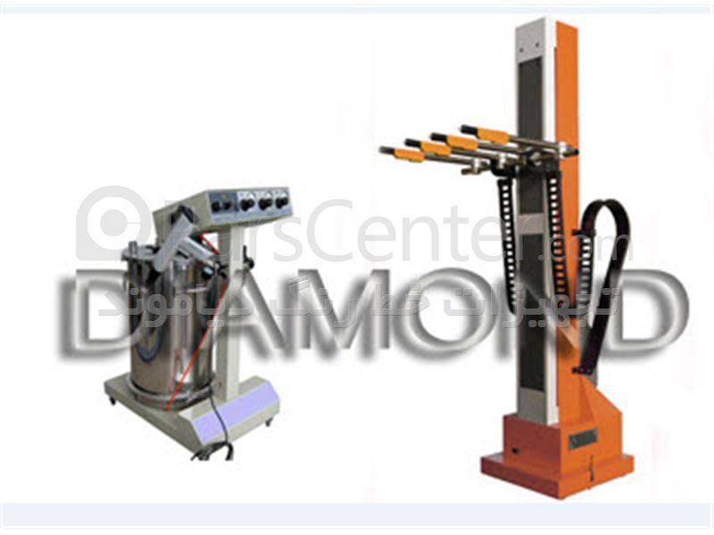 دستگاه پاشش-الکترواستاتیک-رنگپاش-خط رنگ-کوره -کابین ابشار -سایکلون-تجهیزات پاشش رنگ-رنگپاش پودری -