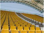 صندلی استادیومی زرد رنگ آژندنوآور