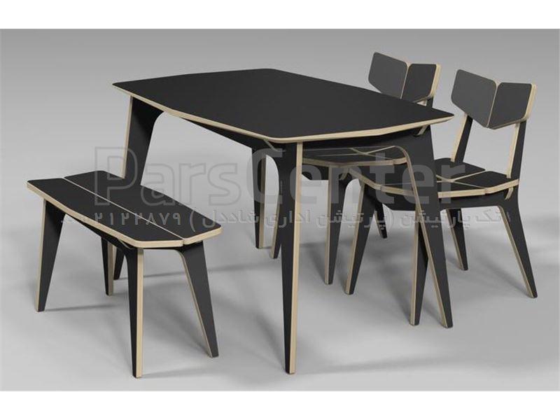 میز نهارخوری میز چوبی میز ناهارخوری جدید ضد اب ویژه عید ٩٥