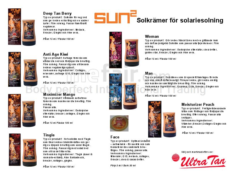 Sun2 Peach Moisturizer