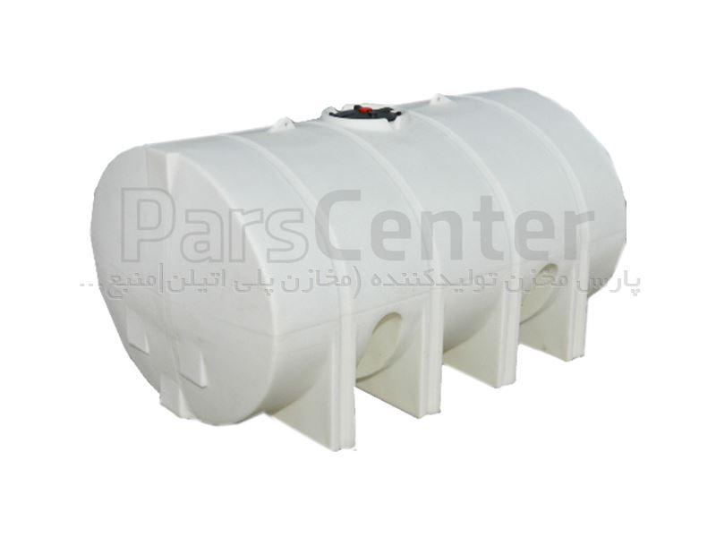 مخازن پلی اتیلن افقی 100 لیتری پلاستونیک