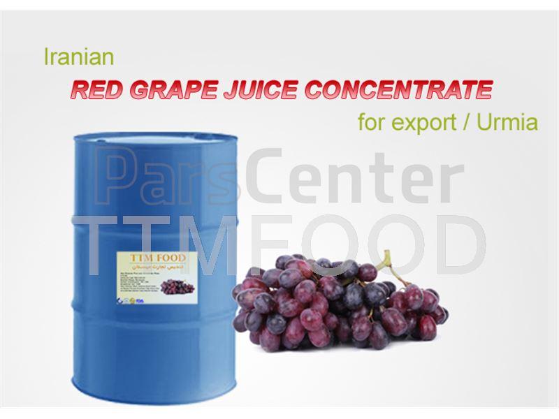 کنسانتره انگور قرمز بسته بندی شده در بشکه های 265 کیلوگرمی