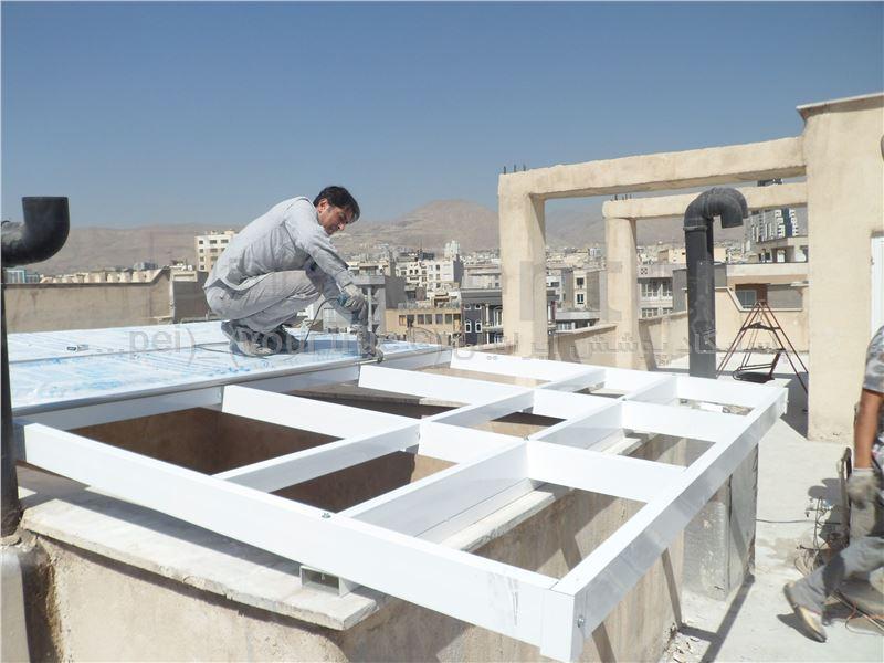 Building skylight_ نورگیر ساختمان - کاشانی - فروتن