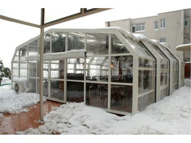 سیستم پوشش سقف متحرک رستوران