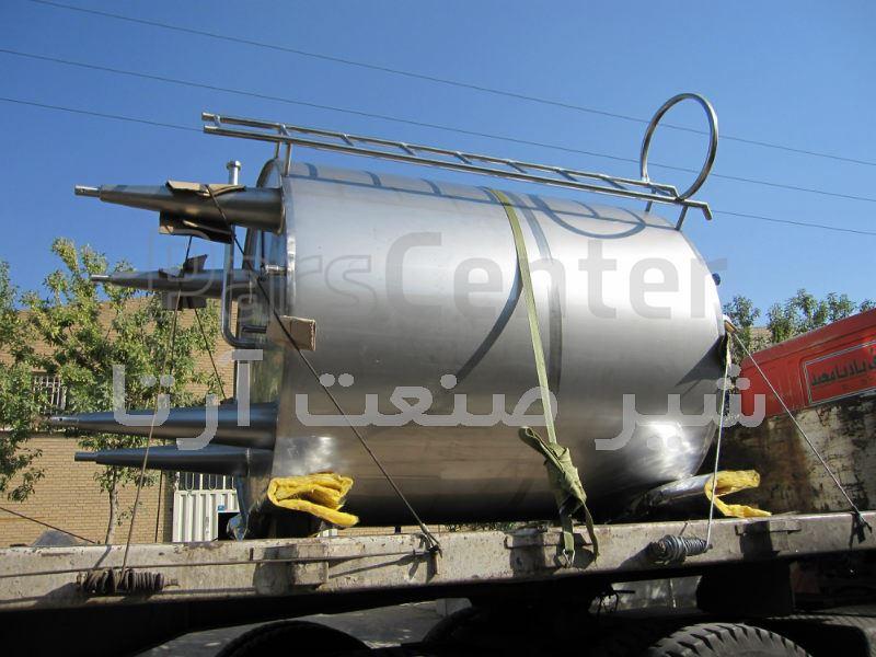 مخزن استیل آب معدنی