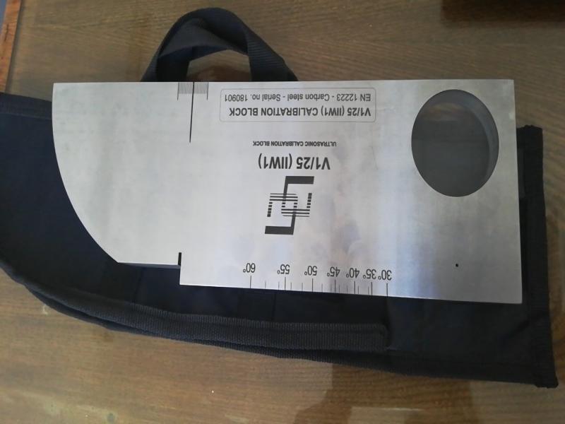 بلوک کالیبراسیون فولادکربنی مدل V1