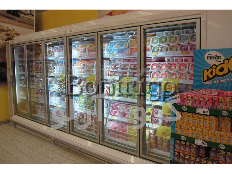 یخچال ایستاده درب دار فروشگاهی،یخچال هایپر مارکتی