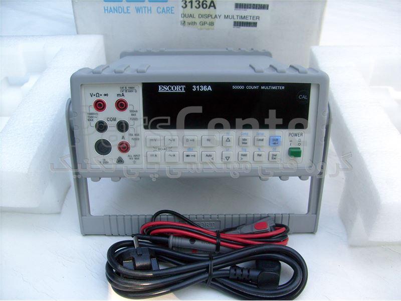 ارزانترین مولتی متر دیجیتال رومیزی ESCORT 3136A