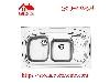 سینک ظرفشویی روکار کد 611 استیل البرز