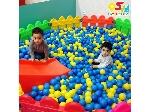 استخر توپ وپارک حفاظ کودک 6 ضلعی مهدکودک وخانه بازی