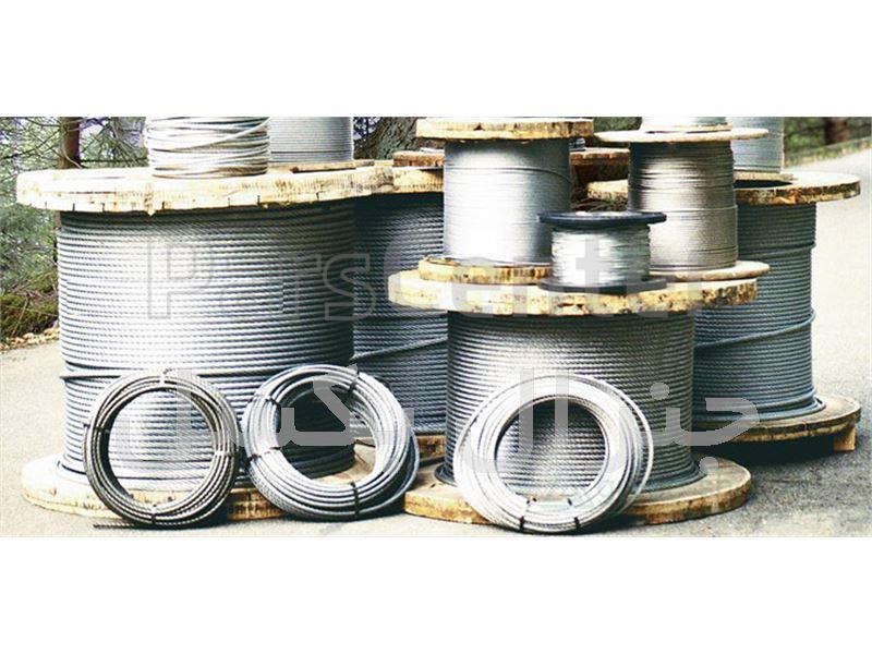 سیم بکسل فولادی و استیل تا قطر 80 میلیمتر