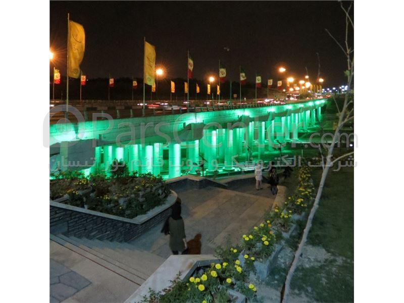 چراغ پرچم ایران جهت نصب بر تیر چراغ برق