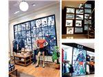 digital printed textile frames