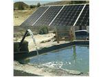 بسته پمپ آب با برق خورشیدی18متری با دبی6 مترمکعب در ساعت