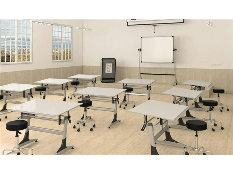 مهرسا تجهیز - تخته وایت برد، صندلی دسته دار، میز و نیمکت