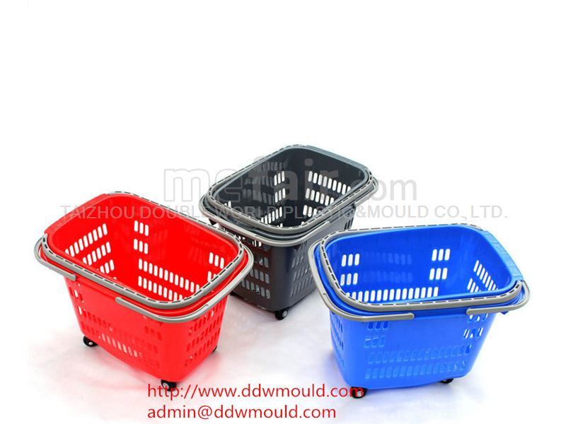 DDW Plastic Laundry Basket Mold Plastic Crate Mold