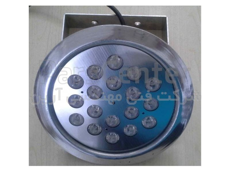 پروژکتور LED استخری 18 وات ضد آب روکار ( IP68 )