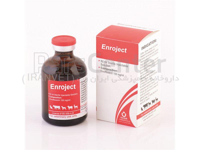 انروجکت (انروفلوکساسین 10%)